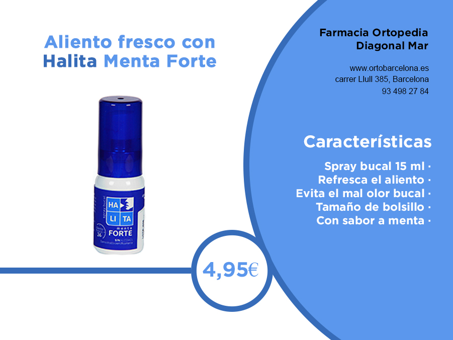 Alita Menta Forte spray bucal