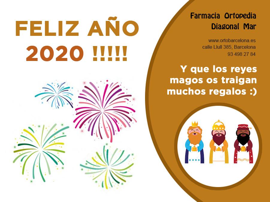 feliz año 2020