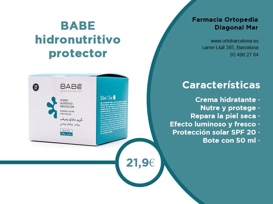 BABE hidronutritiva protectora