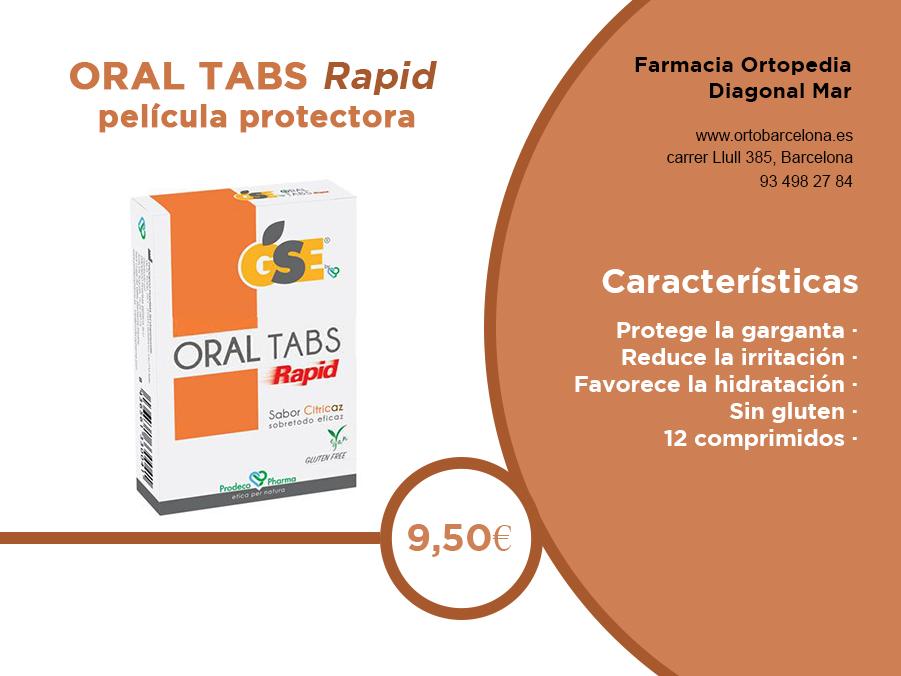 Oral Tabs rapid