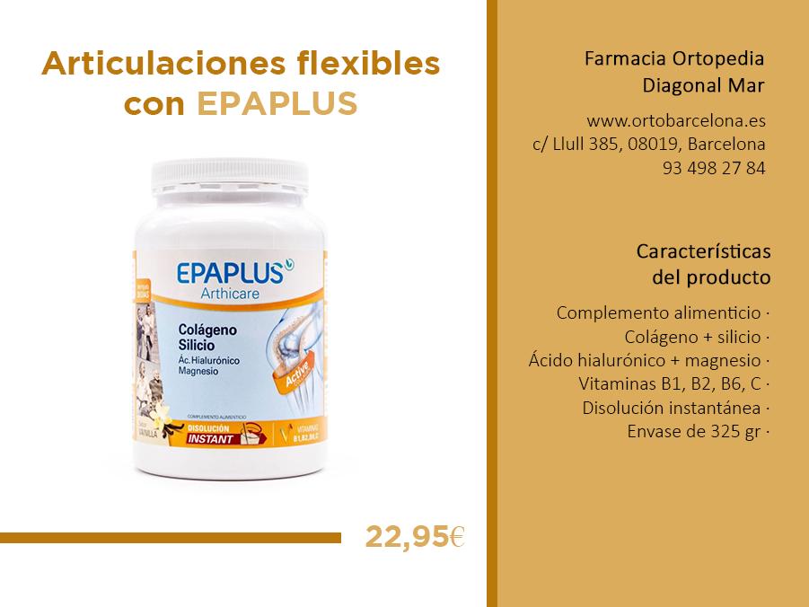 Epaplus colágeno silicio